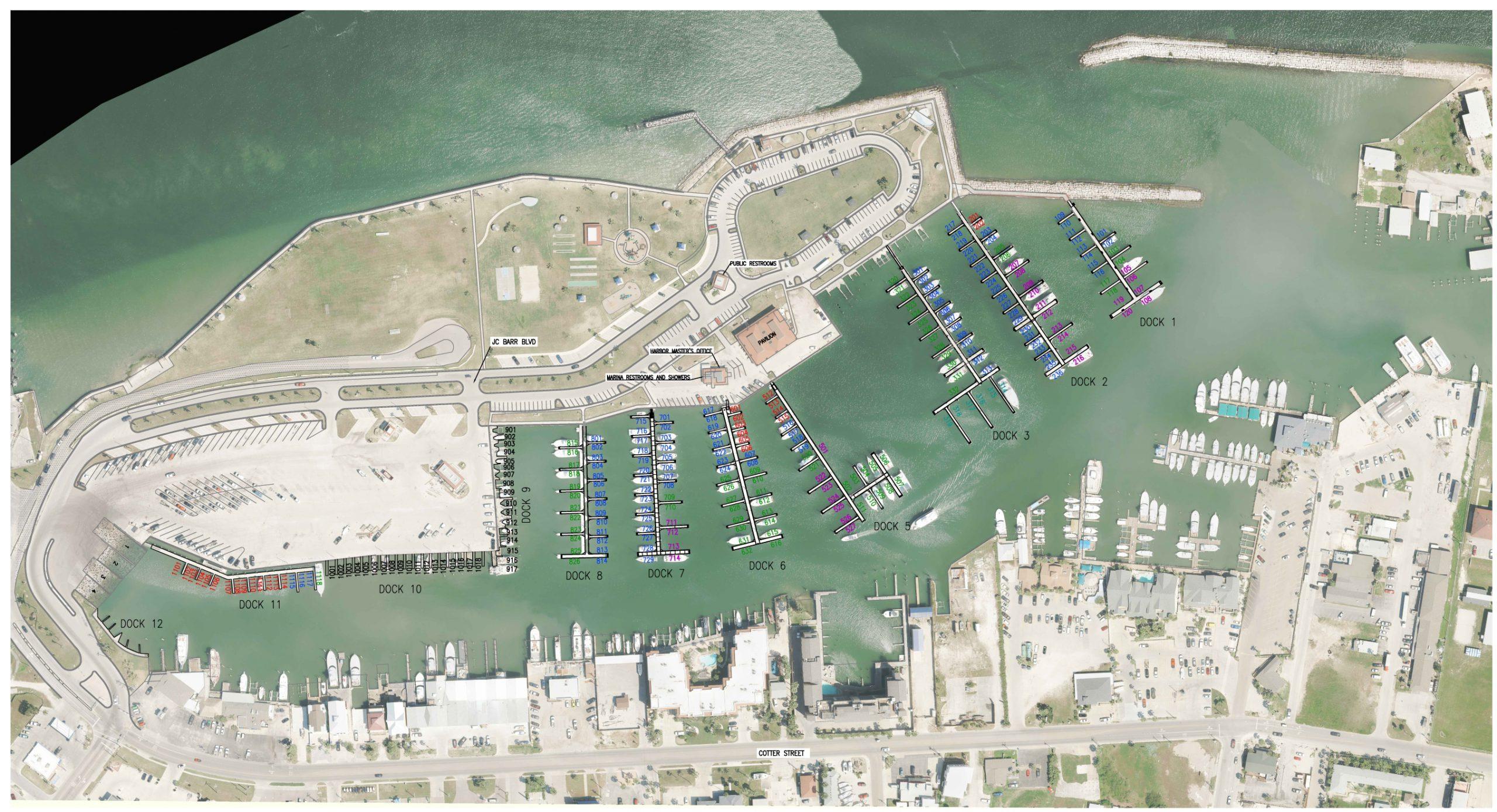 Marina Map 2020